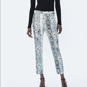 Zara cigarette pants